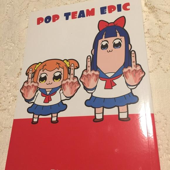 Pop Team Epic manga vol 1